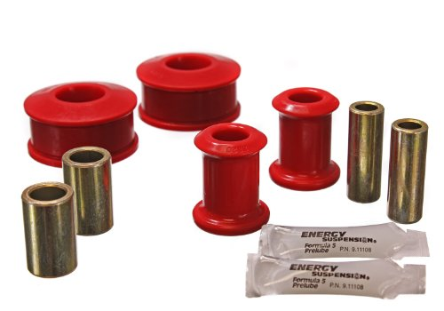 Energy Suspension 15.3113R Front Control Arm Bushing Set for VW by Energy Suspension