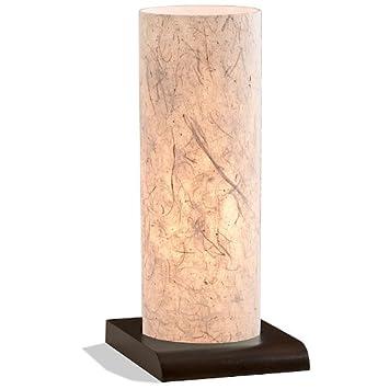 Lampe Nagomi Rds Handgefertigtes Japanpapier Massivholz Braun H 37