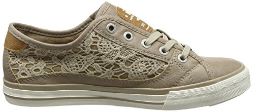 Mustang Ladies 1146-303 Brown Sneakers (33 Nature)
