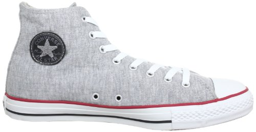 Adulte blk Star red Sweat Haut Mixte Hi Gry Converse Chuck gry rd blk Gris All Grau Taylor Bqvc8