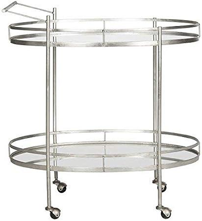 Safavieh Home Collection Dante Silver Bar Cart