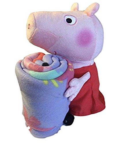 Entertainment One Peppa Pig Fleece Throw Blanket