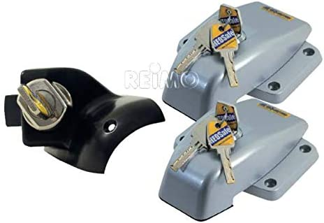 Security and vehicle HEOSAFE Universal lock WHITE for