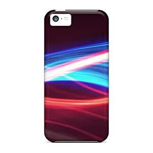 linfenglinHigh-quality Durable Protection Case For Iphone 5c(abstract Light Swirls)