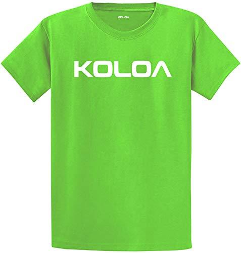 Koloa Surf Classic Wave Logo Cotton T-Shirt-4X-Large,Aquatic//w