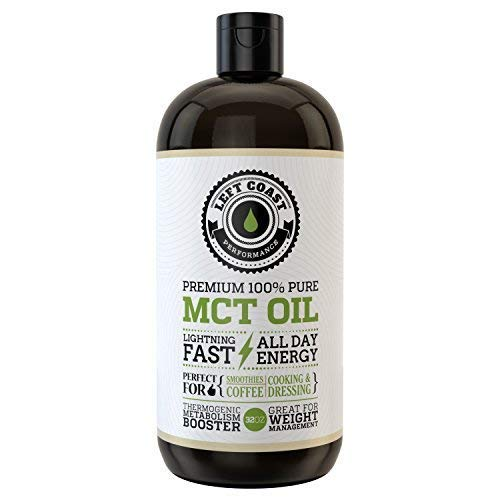 MCT Oil Keto derived only from Sustainable Coconuts. C8 and C10. Keto Diet | Paleo Friendly. Triple Filtered. Each Batch is Independently Tested (32oz) (In Each Reaction Box Place The Best)