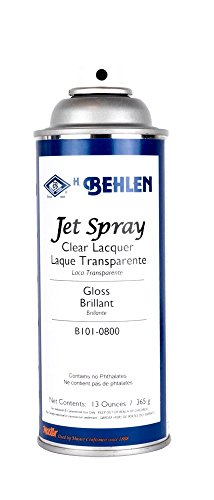 Behlen Jet Spray Clear Lacquer - Gloss