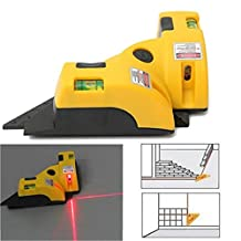 Sonicee Vertical Horizontal Laser Line Projection Square Instrument Level Right Angle 90 Degree