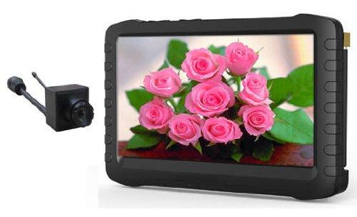 "Hot!5.8ghz Micro Wireless Camera Dvr 5""portable Recorder ..."