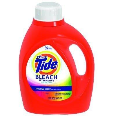 PGC13788 - Procter amp; Gamble Professional Laundry Detergent With Bleach, Original Scent, Liquid, 2.3 Qt. Bottle