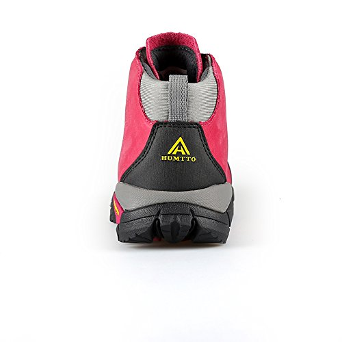 HUMTTO and Climbing Women Rose Men Red Walking 8907 Outdoors Shoes Boots Hiking qpxqOw61