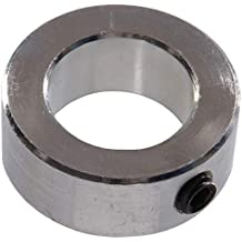 1//4 Width Climax Metal H2C-018-S Shaft Collar Stainless Steel With 4-40 x 3//8 Set Screw 13//16 OD Two Piece 3//16 Bore