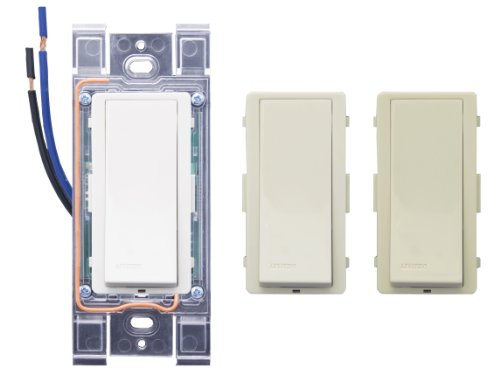 Leviton WSS10-UZ LevNet RF Advanced RF Wall Switch Receiver