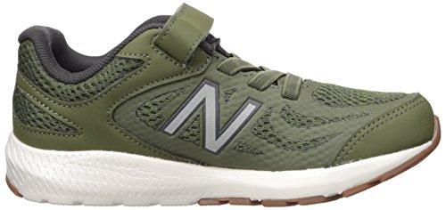 New Balance Boys' 519v1 Hook and Loop Running Shoe Dark Covert Green/Phantom 2 M US Infant by New Balance (Image #7)