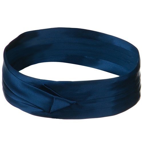 (DPC/Scalar Silk 3 Pleat Fashion Band - Navy)