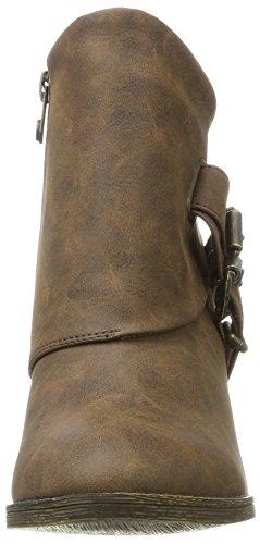 Coffee Texas Cowboy Strum Pu Blowfish Women's Boots Brown wv7XBq