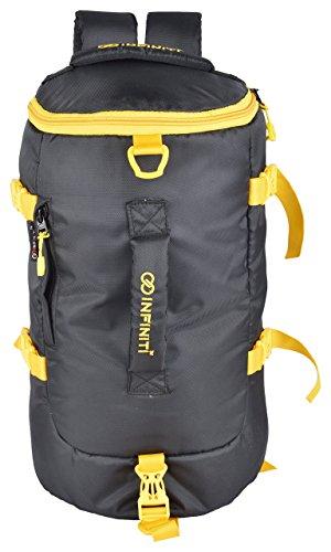 INFINITI Fabric Sports Duffel Bag  15L, Black