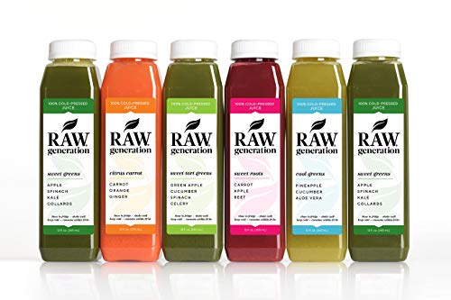 7-Day Skinny Cleanse by Raw Generation® - Best Juice Cleanse to Lose Weight Quickly/Healthiest Way to Cleanse & Detoxify Your Body/Jumpstart a Healthier Diet (Get A Flat Belly Without Diet Or Exercise)