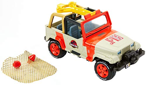 Matchbox Jurassic World Jeep Wrangler & Rescue Net