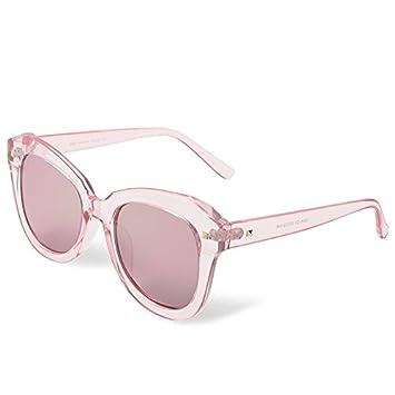 TL-Sunglasses mujer gafas de sol polarizadas PC Acelerador Guía Gafas Steampunk, Rosa