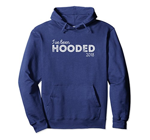 Unisex 2018 Masters Degree Graduation Hoodie Gift for Graduate Small Navy (Master Adult Sweatshirt)
