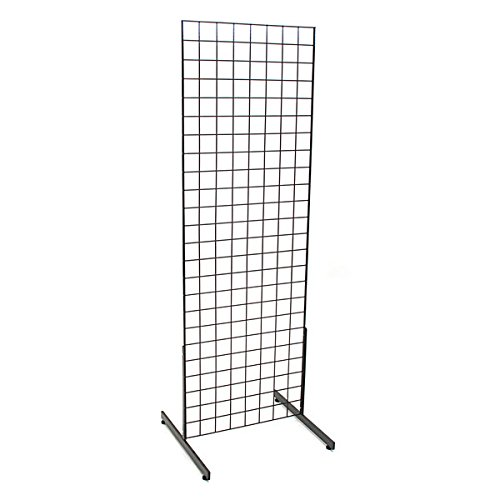 (KC Store Fixtures 05351 Grid Unit, 2' x 6' with Legs,)
