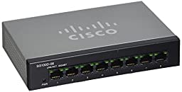 CISCO SYSTEMS SG100D-08-NA 8 Port Gigabit Switch