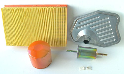 98-2008 Crown Vic Marquis Town Car 4.6 Tune up Kit Oil-air-gas-trans Filters New