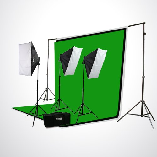 ePhoto H9004S3-69BWG Complete Photography Video Studio Light by ePhoto