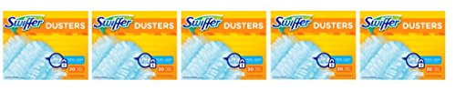 Swiffer 180 Dusters Refills Unscented MZDwne, 5Pack