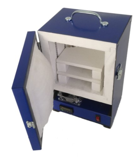 Rapidfire Pro Electric Kiln W//digital Controller for PMC Jewelry Making Beadmaking