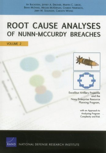 Root Cause Analyses of Nunn-McCurdy Breaches: Excalibur Artillery Projectile and the Navy Enterprise Resource Planning Program, with an Approach to ... Risk (Rand Corporation Monograph) (Volume 2)