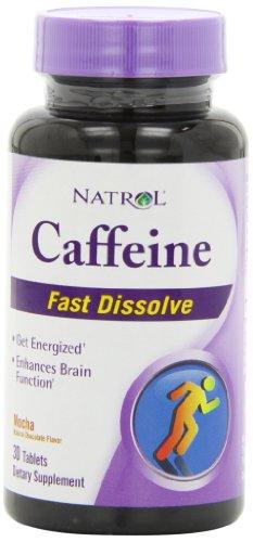 Natrol 100 mg de caféine régime comprimés de supplément, 30 comte