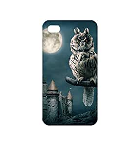 Owl Castle Moon TPU Case for iPhone 4/4S