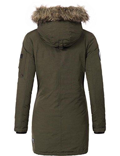d'hiver manteau parka XS nbsp;couleurs Mary d'hiver YM Manteau 3 khujo BCqZR