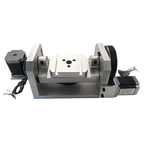 CNC Rotary Table Rotational Axis A C Axis Engraving Machine Rotary 4th 5th Axis Router (4th And 5th Axis Cnc Rotary Table)