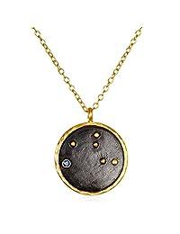 "Satya Jewelry""Zodiac"" Constellation Pendant Necklace"