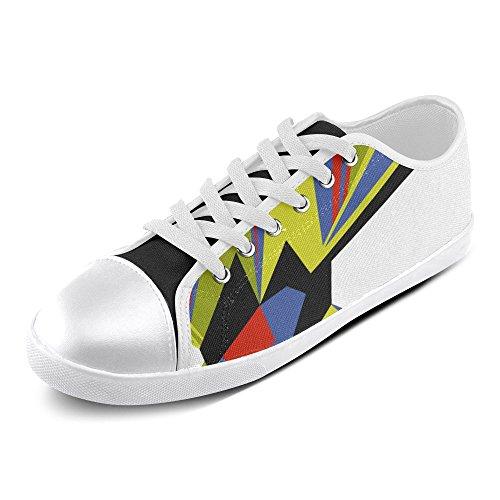 Artsadd Custom Artistic Image Zapatos De Lona De Van Gogh Para Mujeres (model016) C4