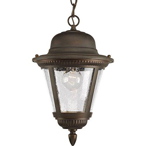 20 Westport 1 Light (Progress Lighting P5530-20 1-Light Hanging Lantern, Antique Bronze)