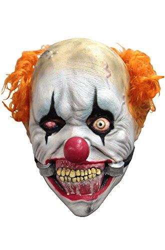 [Ghoulish Masks Smiley Jr Teen Mask Standard] (Smiley Horror Mask)