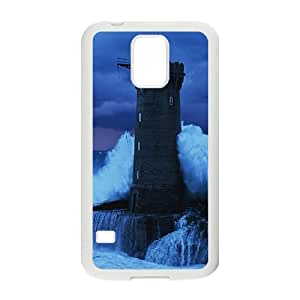 SamSung Galaxy S5 cell phone cases White Lighthouse fashion phone cases IOTR699504