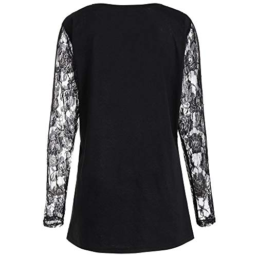 Nero Donna Di Casual Top Donna Pizzo Shirt Camicetta Zucca T Da Donna E Sportive Di Camicie Stampa Da Con Halloween T Shirt In Da wFCgqAgn