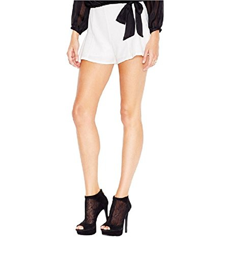 Guess-Women-New-69-Flirty-Mid-Rise-Dress-Shorts-Macadamia-White-2