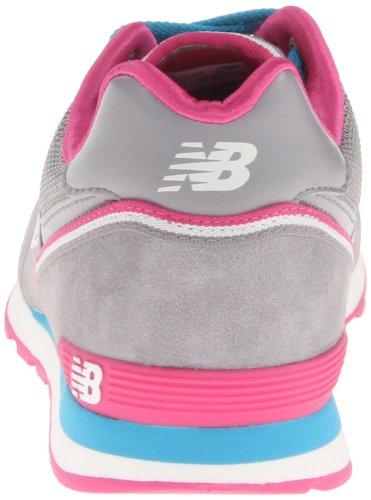 New Balance KL574 M KL574 Pre Lace-Up - K - Zapatillas para unisex-niño, color varios colores, talla 28 Grey Pink