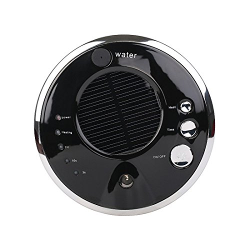 Price comparison product image I-Youth Solar Car Air purifier Lonizer Mini Air Freshener USB Anion Humidifier Aromatherapy Machine, Black