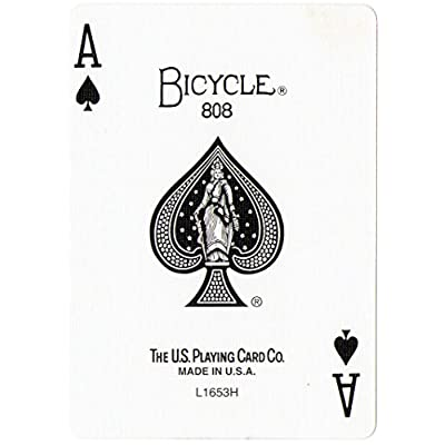 Bicycle Playing Card Force Deck Blue Back: Sports & Outdoors