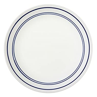 Corelle Livingware 8-1/2-Inch Luncheon Plate, Classic Cafe' Blue (6 Plates)