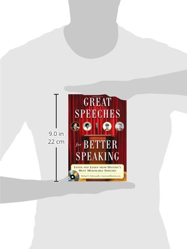 Great Speeches For Better Speaking (Book + Audio CD): Listen and Learn from History's Most Memorable Speeches by McGraw-Hill Education