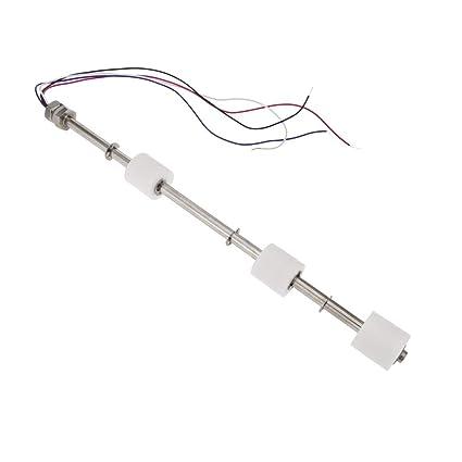BeMatik - Sensor de Nivel de Agua de 3 Niveles y 30 cm