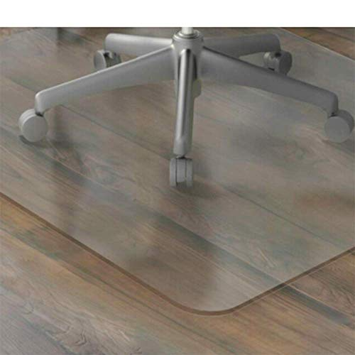 8080 Chair - 1PC Nice Transparent PVC Chair Mat Floor Protection Rectangular Hard Floor Mat Carpet Use Living Room,8080Cm
